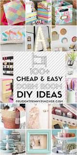 100 and easy dorm room diy ideas