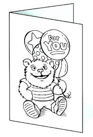 Feel Better Coloring Pages Get Well Cards Images Free Printable