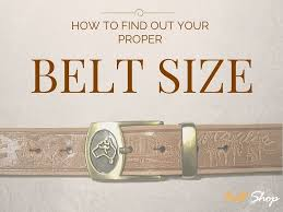 Mens Belt Size Chart Australia A Mans Failproof Guide To Find Out The Best Belt Size