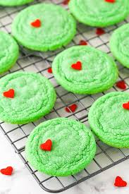 Great Value Food Coloring Chart Grinch Cookies
