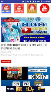 Thai lottery live tv for Android - APK Download