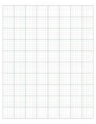 Blank 1 Inch Grid Paper Template Square Graph Maths In Printable