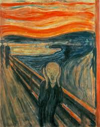 famous painting the scream by edvard