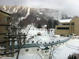 Mount Saint Anne Paint Skiing Mont Sainte Anne In Quebec Canada Stop Having A Boring