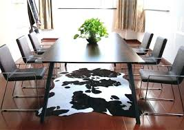 black and white rugs brown rug animal faux skin cowhide carpet anti australia black and white rugs