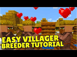 to breed villagers in minecraft 1 14