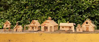 Log Cabin Toys