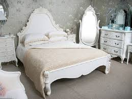 Charming White French Bedroom Furniture Sets