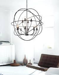 12 light chandelier lighting bird cage up in brown luciana costco