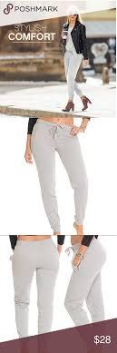 Womens Jogger Long Zipper Pockets Size Small Coco Limon