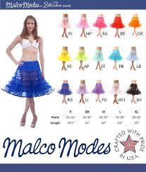 Malco Modes Color Chart Malco Modes Meghan Luxury Child Crinoline Slip Organza Binding Adjustable