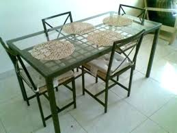 glass dining table ikea round glass dining table round glass top dining tables amazing round glass