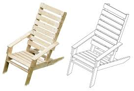 picture of one pallet chair