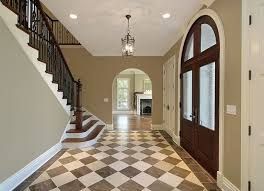 black and white diamond tile floor. Decoration Black And White Diamond Tile Floor Brown Tan Checkered Foyer Floors Flooring By Architectural