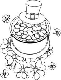 Small Picture St Patricks Day Coloring Pages when printed Only the St