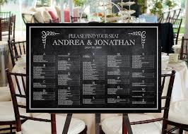 Escort Cards Vs Seating Chart Vs Place Cards Whats The
