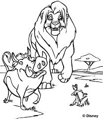 Coloriage Le Roi Lion Les Beaux Dessins De Disney Imprimer Et
