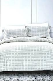 black and white striped duvet cover