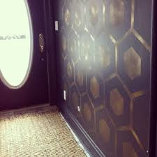 Painting Patterns On Walls Wall Paint Stencils Modern With Masculine Dark Blue And Gold Color