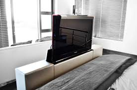 interior tv at foot of bed amazing lift cabinet for diy the info in 6