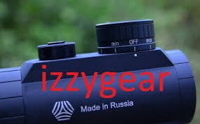 RUSSIAN VOMZ PILAD 1x25 Weaver-Picatinny 3 MOA closed red dot Shvabe+free  CR2032 - EUR 89,12   PicClick FR