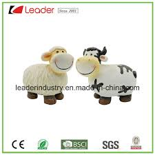 polyresin lovely cow and sheep statues