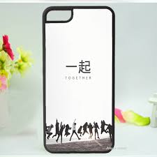 EXO kpop fashion original mobile phone case cover for iphone 4 4s