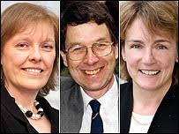 Angela Beech, John Whiting and Anita Monteith. BBC Radio 4's Money Box Live - _44363015_panel203b