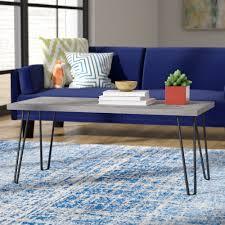 Varick Gallery Bergland Coffee Table  Reviews Wayfair - Coffee table with chair