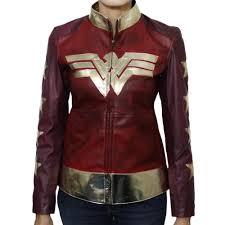 wonder woman costume women s leather jacket women s leather jacket