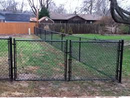 image of make paint chain link fence