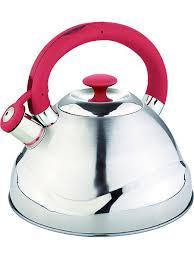 <b>Чайник со свистком 3.0</b>л. С силиконовой ручкой RAINSTAHL ...