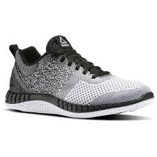 reebok mens running shoes. reebok - print run prime ultraknit black/white/vital blue/pewter bs6977 mens running shoes o