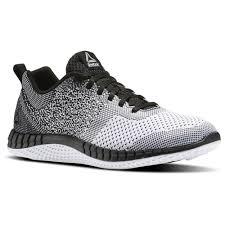 reebok mens running shoes. reebok - print run prime ultraknit black/white/vital blue/pewter bs6977 mens running shoes o