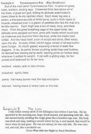 description of a person example paragraph essay personal  writing a descriptive essay tip sheet butte college