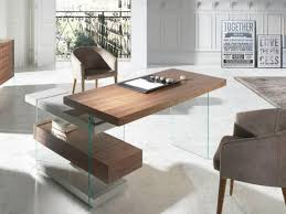 contemporary study furniture. Contemporary Furniture Porto Lujo Apollo Contemporary Study Desk In Walnut And Glass Intended Contemporary Study Furniture D