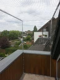 Katzennetz Für Dachloggia Balkon Mit Dachrand Katzennetze Nrw