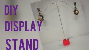Earring Display Stand Diy DIY Earring display stand easy tutorial YouTube 12