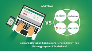 Do Manual Citation Submissions Perform Better Than Data Aggregators