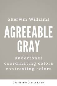 sherwin williams agreeable gray the