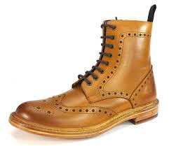 london brogues brunswick hi welted leather sole inside zip brogue boots men s shoes guide london brogues shoes best s
