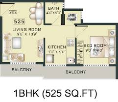 1 bhk 525 2796 1467900 to view