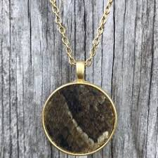 Shed <b>Snakeskin</b> Necklace, <b>Unisex</b> Jewelry, Nature Pendant in <b>2019</b> ...