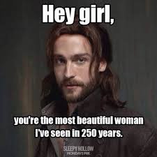 Funny 'Sleepy Hollow' memes and pics | Ichabod and Abbie via Relatably.com