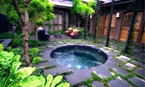 in ground jacuzzi. In Ground Jacuzzi Decoration Small Backyard Hot Tub Ideas Designs Large And Above U