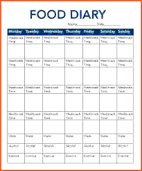 Printable Food Diary For Slimming World Download Them Or Print