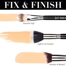 the proper brush makes all the difference in your foundation application and luckily we have quite
