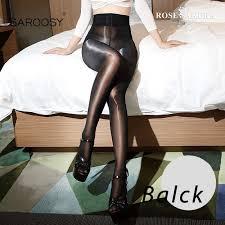 SAROOSY 2020 <b>New Sexy</b> Oil Shiny One Line Crotch <b>Stockings</b> for ...
