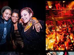 Black club lesbian night