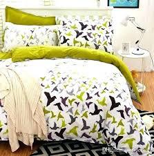 flower bed set birds blooms bedding linens 5 size duvet cover bird comforter twin tw black red flower bed set new double